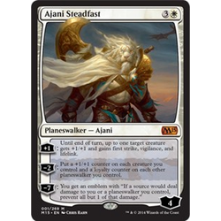 Magic löskort: M15: Ajani Steadfast