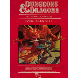 Dungeons & Dragons Set 1: Basic Rules (1983)