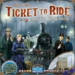 Ticket to Ride Map Collection 5 - United Kingdom & Pennsylvania