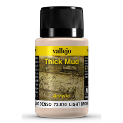 Vallejo Weathering Effects: Light Brown Thick Mud