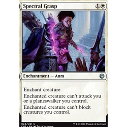 Magic löskort: Conspiracy: Take the Crown: Spectral Grasp