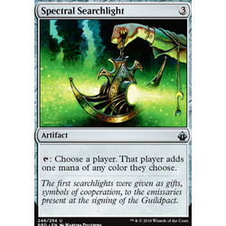 Magic löskort: Battlebond: Spectral Searchlight