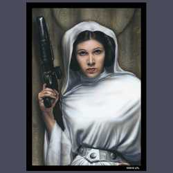 FFG Art Sleeves Princess Leia 64x88 mm