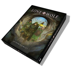 Lone Wolf Adventure Game (box)