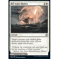 Magic löskort: Zendikar Rising: Sejiri Shelter // Sejiri Glacier