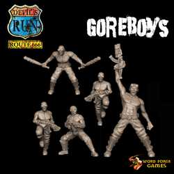 The Skinners Goreboys on Foot (5)