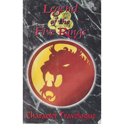 Legend of the Five Rings (1st ed): Character Travelogue