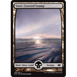 Magic löskort: Modern Horizons: Snow-Covered Swamp