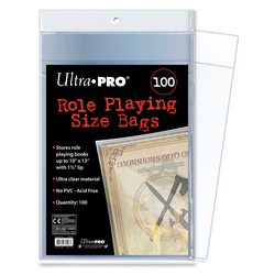 "Role Playing Bags 10x13"" (100 st)"