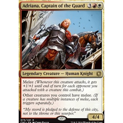 Magic löskort: Conspiracy: Take the Crown: Adriana, Captain of the Guard