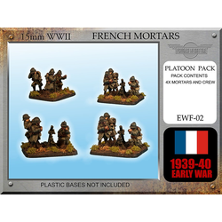 French Brandt Mortar mle 27/31 Teams x 4
