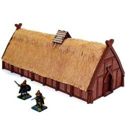 28mm Norse Longhouse