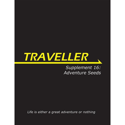 Traveller 3rd ed: Supplement 16: Adventure Seeds