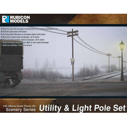 Rubicon: Utility & Light Pole Set