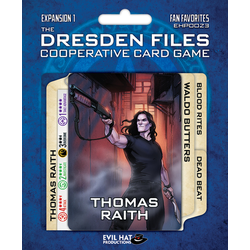 The Dresden Files Cooperative Card Game: Fan Favourites