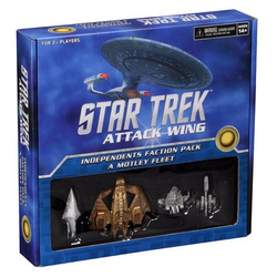 Star Trek: Attack Wing: Independent Faction Pack - A Motley Fleet