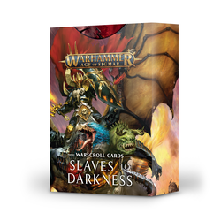 Slaves to Darkness Warscroll Cards
