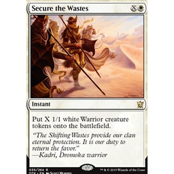 Magic löskort: Dragons of Tarkir: Secure the Wastes (foil)