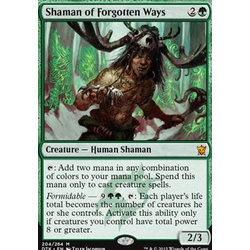 Magic löskort: Dragons of Tarkir: Shaman of Forgotten Ways