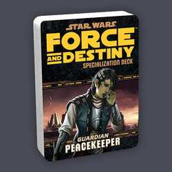 Star Wars: Force and Destiny: Specialization Deck Guardian Peacekeeper