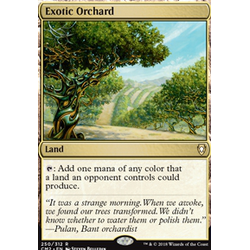 Magic löskort: Commander Anthology 2018: Exotic Orchard