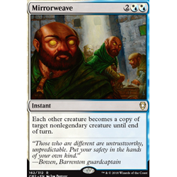 Magic löskort: Commander Anthology 2018: Mirrorweave
