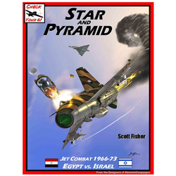 Star and Pyramid - Jet combat between Israel and Egypt 1966-73