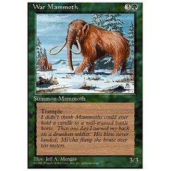 Magic löskort: 4th Edition: War Mammoth