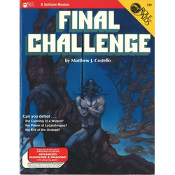 ADD: Role Aids, Final Challenge (1984)
