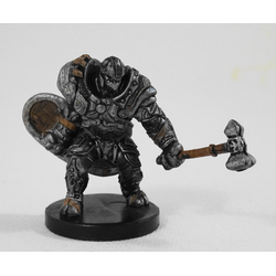 D&D Miniatures Game: Warforged Bodyguard