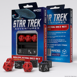 Star Trek Adventures: Command Division Dice