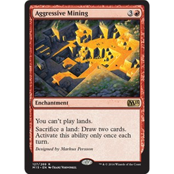 Magic löskort: M15: Aggressive Mining