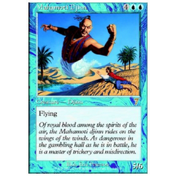 Magic löskort: 7th Edition: Mahamoti Djinn