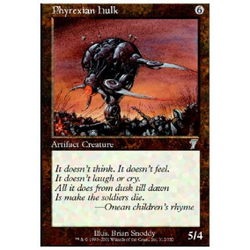 Magic löskort: 7th Edition: Phyrexian Hulk