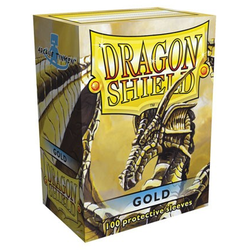 Dragon Shield Sleeves - Standard Gold (100 ct. in box)