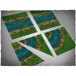 DCS Terrain Tiles Set - Clear River (12)