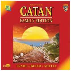 Settlers of Catan (5th ed): Family Edition (eng. regler)