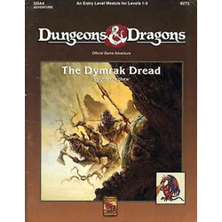D&D: The Dymrak Dread (1991)