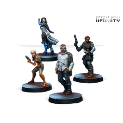 Infinity RPG Miniature: Agents of the Human Sphere. RPG Characters Set