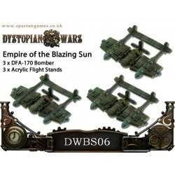 Empire of the Blazing Sun DFA 170 Bombers (3)