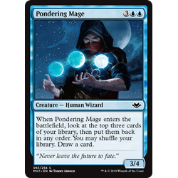 Magic löskort: Modern Horizons: Pondering Mage