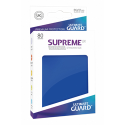 "Card Sleeves Standard ""Supreme UX"" Blue 66x91mm (80) (Ultimate Guard)"