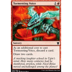 Magic löskort: Dragons of Tarkir: Tormenting Voice