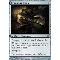 Magic löskort: Zendikar: Grappling Hook