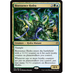 Magic löskort: War of the Spark: Bioessence Hydra