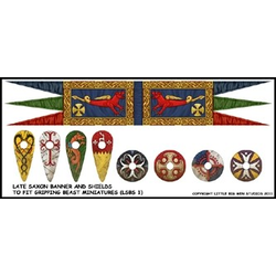 Late Saxon banners & shield transfers