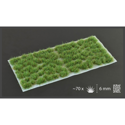 Gamer's Grass - Strong Green Tufts 6mm