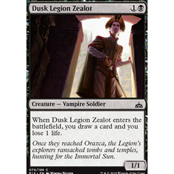 Magic löskort: Rivals of Ixalan: Dusk Legion Zealot