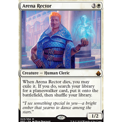 Magic löskort: Battlebond: Arena Rector