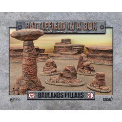 Battlefield in a Box: Badlands Pillars